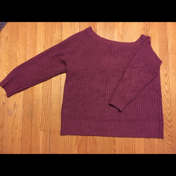 American Eagle Outfitters Sweaters - American Eagle Off-Shoulder Knit Sweater